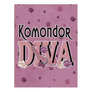 Komondor DIVA Postkarte