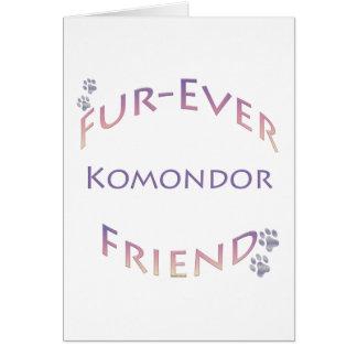 Komondor Furever Karte