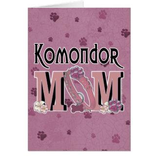 Komondor MAMMA Karte