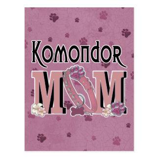 Komondor MAMMA Postkarte