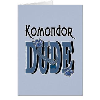 Komondor TYP Karte