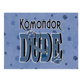 Komondor TYP Postkarte