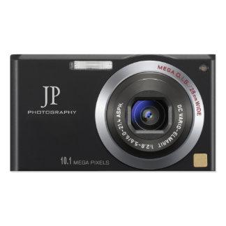 Kompakte Digitalkamera-Fotograf-Visitenkarte