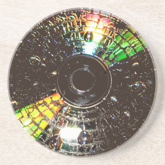 Kompakte Disco Sandstein Untersetzer