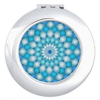 Kompakte Spiegel-Mandala Taschenspiegel