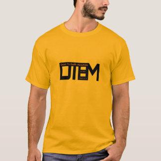 Kompakter DTEM Logo-Thema-Vers T-Shirt