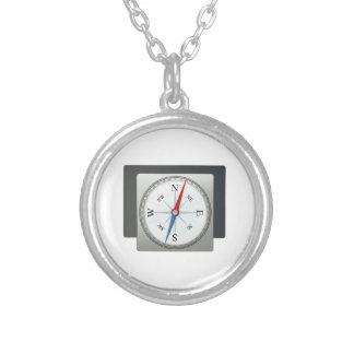 Kompass Selbst Gestaltete Halskette