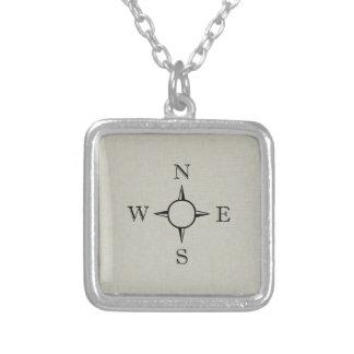 Kompass Personalisierte Halskette