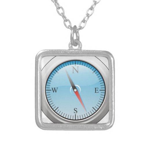 Kompass Amulett