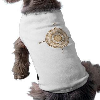 Kompass-Hundeshirt T-Shirt