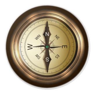 Kompass-Keramik-Fach/Kabinett-Griff Keramikknauf