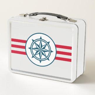 Kompass Metall Brotdose