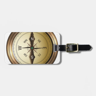 Kompass-Norden-Südostwesten Kofferanhänger