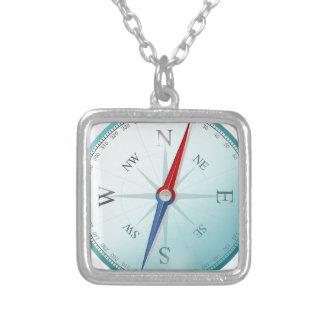 Kompass-Ostnord-südwestkompass-Rose Personalisierter Schmuck