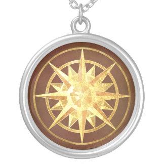 Kompass-Rose Amuletten