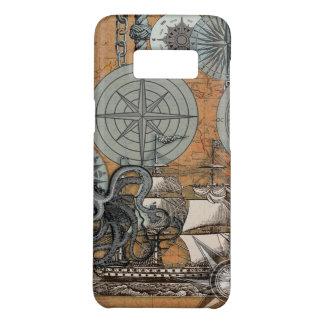 Kompass-Rosen-Seekunst-Druck-Schiffs-Krake Case-Mate Samsung Galaxy S8 Hülle