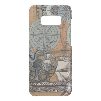 Kompass-Rosen-Seekunst-Druck-Schiffs-Krake Get Uncommon Samsung Galaxy S8 Hülle