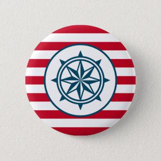 Kompass Runder Button 5,7 Cm