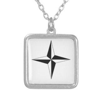 Kompass-Stern Personalisierter Schmuck