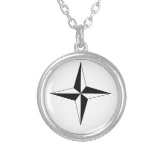 Kompass-Stern Selbst Gestaltete Halskette