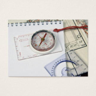 Kompass und alte Karten
