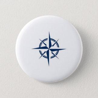 Kompassnadel Runder Button 5,1 Cm