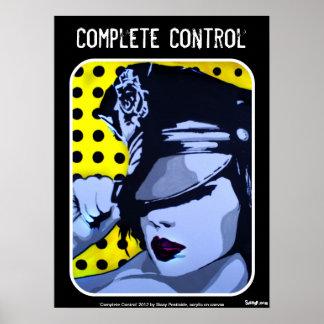 """""""Komplette Kontrollen-"""" Plakat"""