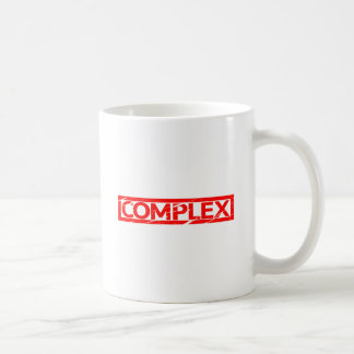 Komplexe Briefmarke Kaffeetasse