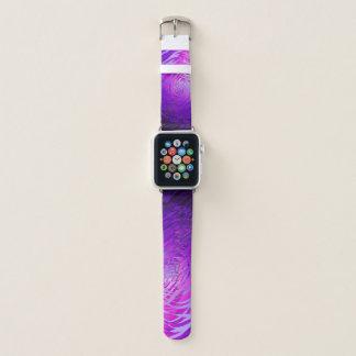 Komplexes gewundenes Lila - Apple-Uhrenarmband Apple Watch Armband
