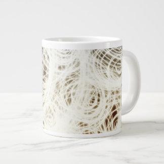 Komplexes kreisförmigesmulti - Kaffee-Tasse Jumbo-Tasse