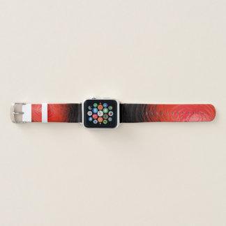Komplexes Spiral2 Rot - Apple-Uhrenarmband Apple Watch Armband