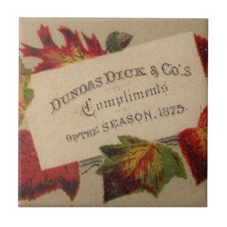Kompliment der Jahreszeit Keramikfliese