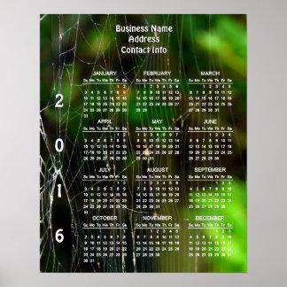 Kompliziertheits-Gewohnheits-Geschäfts-Kalender Poster