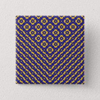 Komposition 17 quadratischer button 5,1 cm