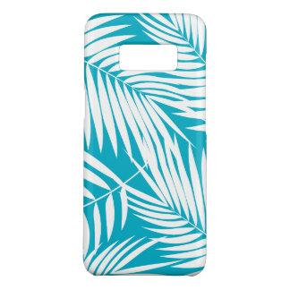Kona Palmen-hawaiisches aquamarines Blatt tropisch Case-Mate Samsung Galaxy S8 Hülle