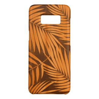 Kona Palmen-hawaiisches Blatt-Imitat Koa Holz Case-Mate Samsung Galaxy S8 Hülle