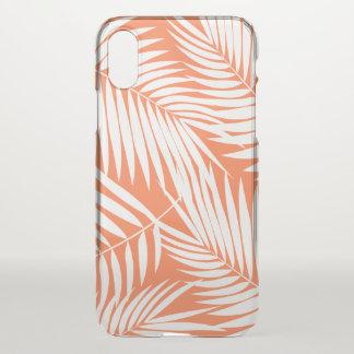 Kona Palmen-hawaiisches Blatt-tropische Papaya iPhone X Hülle