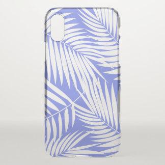 Kona Palmen-hawaiisches Blatt-tropischer Lavendel iPhone X Hülle