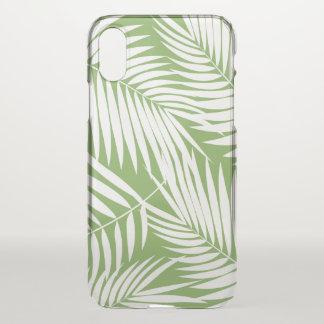 Kona Palmen-hawaiisches Blatt-tropisches Grün iPhone X Hülle
