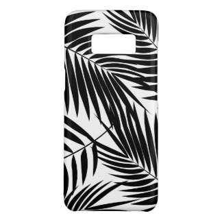 Kona Palmen-hawaiisches schwarzes Blatt tropisch Case-Mate Samsung Galaxy S8 Hülle
