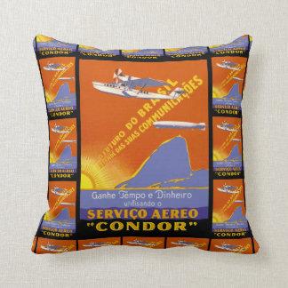 Kondor ~ Brazillian Fluglinienverkehr Zierkissen