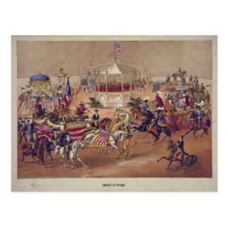 Kongreß der Nationen (1875) Postkarte