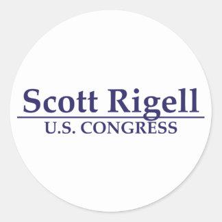 Kongreß Scotts Rigell US Runde Sticker