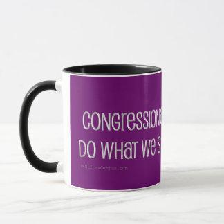 Kongreßbüro der Sittlichkeitsgefühl-Anweisung Tasse
