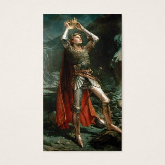 König Arthur Visitenkarte