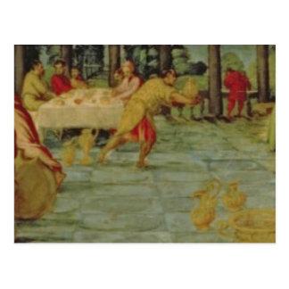König Belshazzars Banquet, c.1543/44 Postkarte