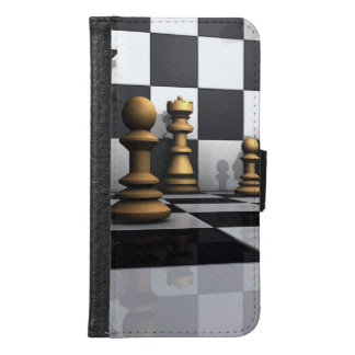 König Chess Play Samsung Galaxy S6 Geldbeutel Hülle