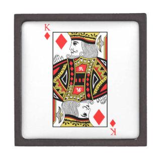 König der Diamanten Schachtel