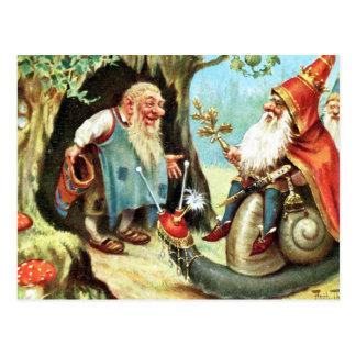König der Gnomes Postkarte