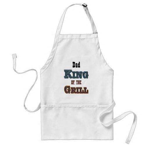 König der Grill-personalisierten Schürze